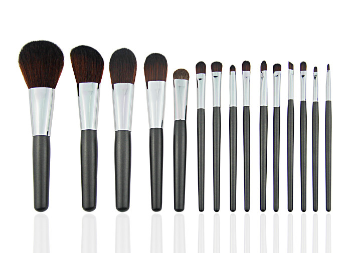 Beauty Professional Makeup Brush Set / Goat Hair Makeup Brushes For Travel
