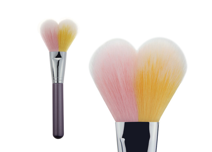 Professional Makeup Geek Contour Blush Brush For Contouring Face , Nylon Hair
