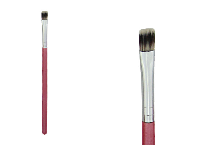 Nylon Hair Flat Top Synthetic Face Brush Concealer Natural Makeup Brushes
